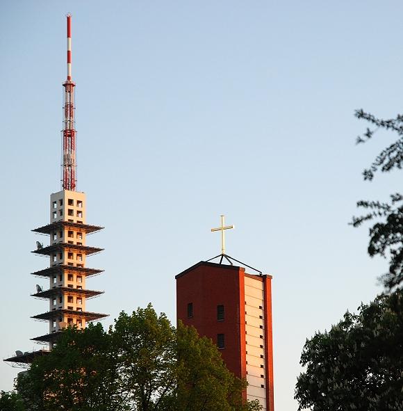 Telemaxx mit Matthiaskirche