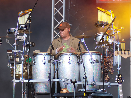 Stefan Gwildis Band Drums / Percussions