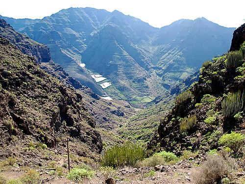 Letzte Blicke in das Tasartico Tal