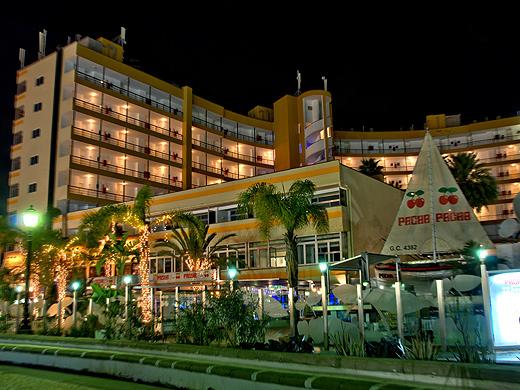 Das nette Hotel Maritim Playa