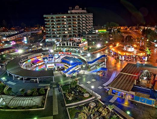 Plaza de Maspalomas von oben aus betrachtet 2