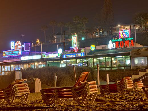 Die Promenade von Playa del Ingles