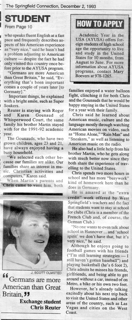 Springfield Connection 1993 p. 2