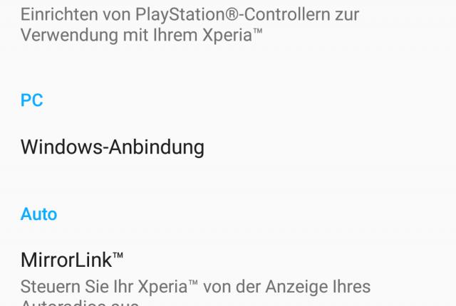 SONY Xperia Z5 hat kein OTG